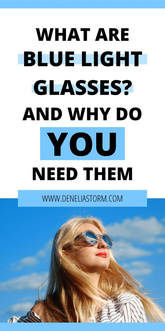 A good pair of blue light blocking glasses can improve your life for the better. Blue light glasses have been seen to decrease stress, headaches and burning eyes. Learn how blue light glasses can help you today!  #bluelight #personaldevelopment #selfimprovement #screentime #glasses