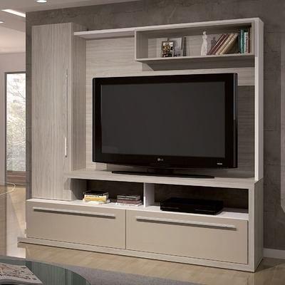 Modular vajillero lcd rack mueble tv la font for Mueble rack