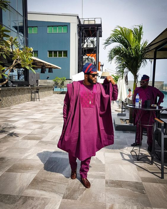 15 Short Agbada Styles For Men (2018/2019)