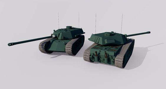 ACT-55 127 Heavy Tank by TheoComm on DeviantArt