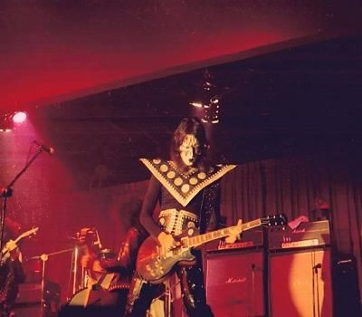 Ace Frehley Les Paul History 1973 To 1975 Ace Frehley Kiss