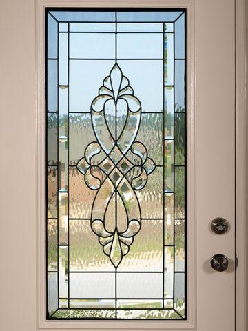Steel door with window panels doors entry doors for Exterior steel doors with glass