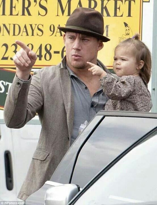 Channing Tatum & his daughter | Channing Tatum | Pinterest ...
