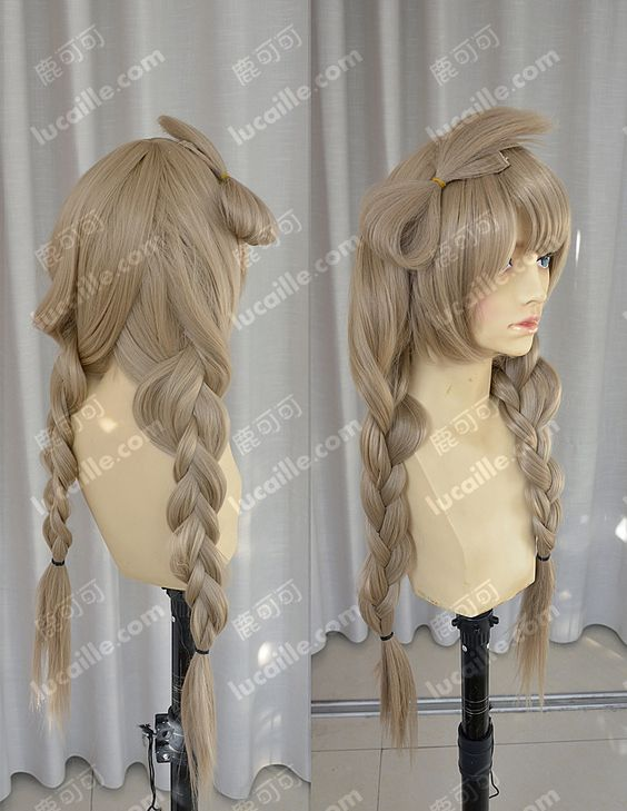 Live love ! Minami Kotori 80cm Blonde Long Braid Cosplay anime Wig-inCosplay Wigs from Health & Beauty on Aliexpress.com | Alibaba Group: