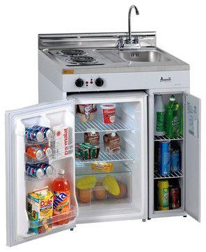 "30"" Compact Kitchen traditional-major-kitchen-appliances"