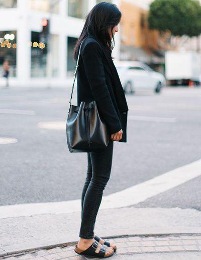 le parfait total look noir 54