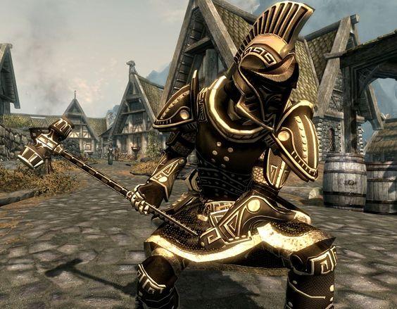 Heroic Dwarven Armory Standalone At Skyrim Nexus Mods And Community Skyrim Skyrim Armor The Centurions