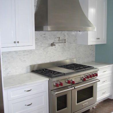 Backsplash for the home pinterest for Brookwood kitchen cabinets