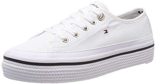 Tommy Hilfiger Corporate Flatform Sneaker Zapatillas Par Https Www Amazon Es Zapatos Tommy Hilfiger Mujer Zapatos Tenis Para Mujer Zapatos Tommy Hilfiger