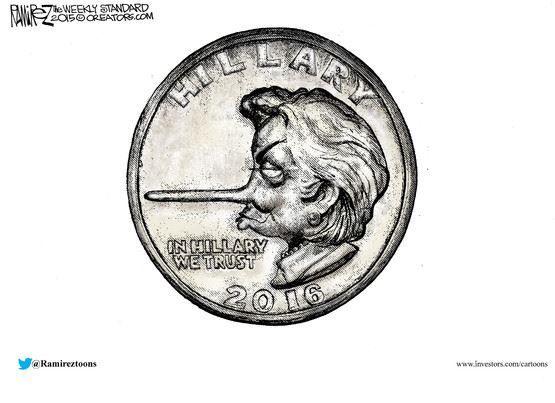 """Résultat de recherche d'images pour """"caricature Clinton contre Trump"""""""