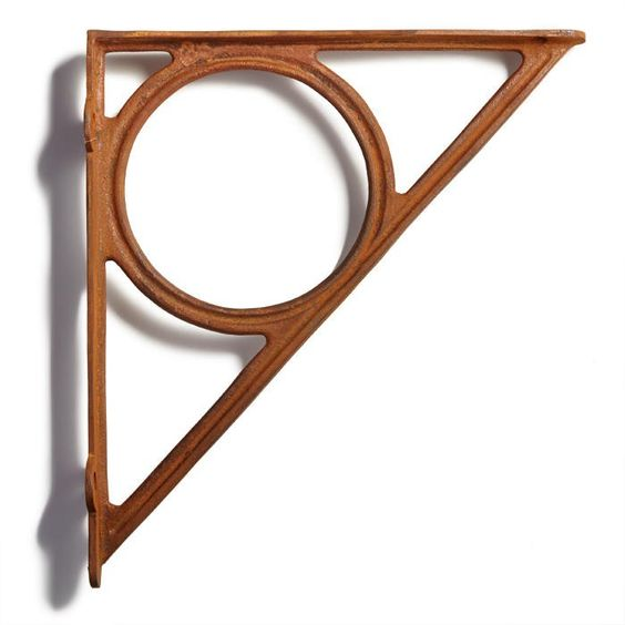 Encircle Cast Iron Shelf Bracket