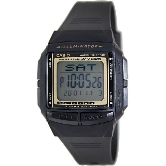 Casio Men's Core DB36-9AV Quartz Watch with Digital Dial