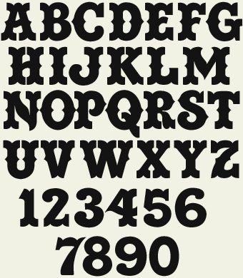 Letterhead Fonts Lhf Saddle Western Fonts Fonts