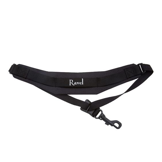 Ravel Extra Long Saxophone and Clarinet Neck Strap, Multicolor