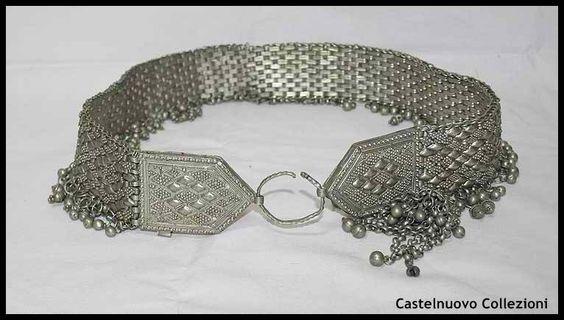 Beautiful Antique Caucassian Silver Filigree Groom Belt           $1500.00 usd