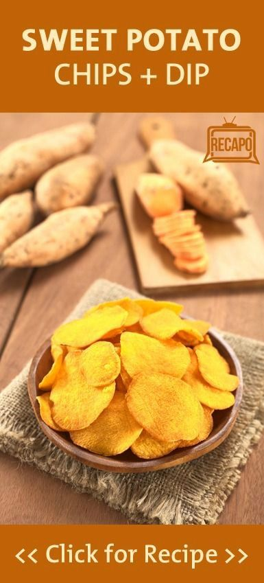Sweet potato chips, Potato chips and Onion dip on Pinterest