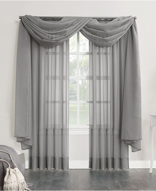 No 918 Sheer Voile 59 In 2020 Curtain Styles Curtains Living