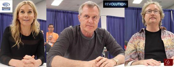 NBC's Revolution - Elizabeth Mitchell, Stephen Collins, & Rockne S. O'Bannon - Interview from WonderCon 2014