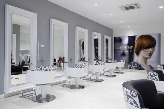 beauty salon equipment furniture gamma bross shop interior workspace and visual. Black Bedroom Furniture Sets. Home Design Ideas