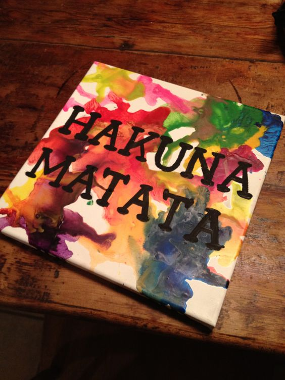 Crayon Melting Canvas Diy Diy Pinterest Canvases