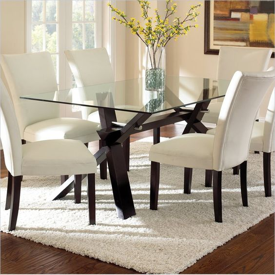 34 Best Furniture   Dining Tables Images On Pinterest | Dining Tables,  Dining Room And Glass Top Dining Table