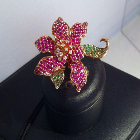 Anello Orchidea