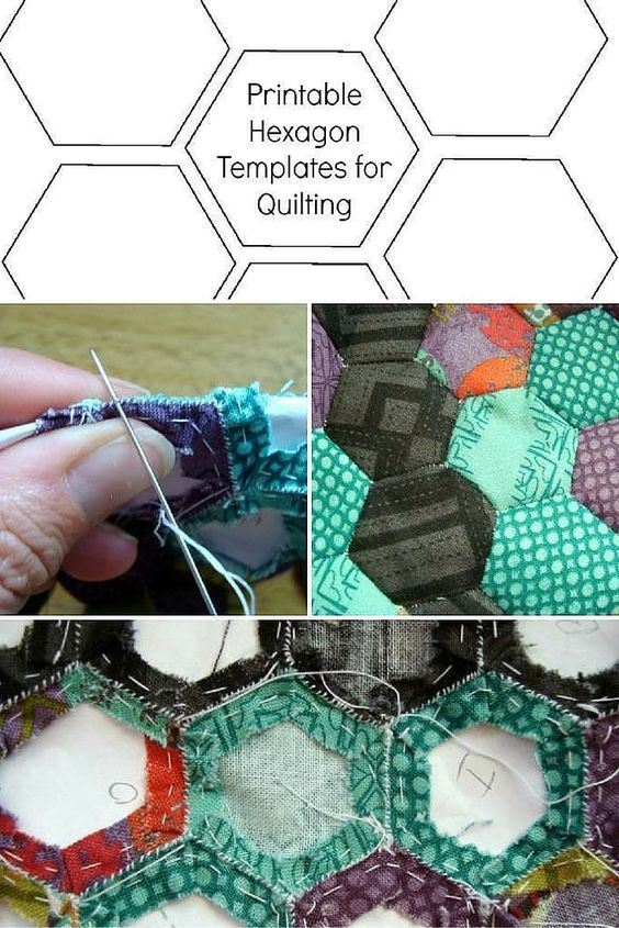 Print out this free reference to cut and sew hexies faster than ever!