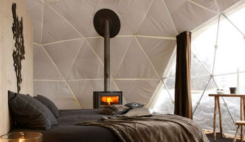Ice tent in Switzerland: http://pinterest.com/pin/161144492887745127/  from 325 €/night