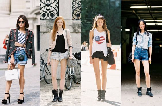 Looks con Shorts
