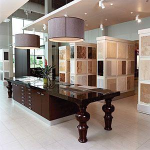 granite and quartz retail showroom - Gorgeous showroom! | granite ...