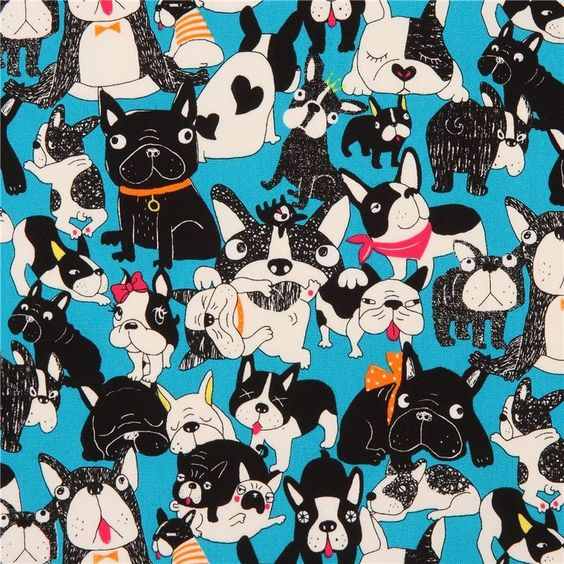 http://www.kawaiifabric.com/en/p11873-blue-funny-black-off-white-dog-animal-Oxford-fabric-from-Japan.html