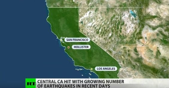 Σε επτά ημέρες η Καλιφόρνια έχει πληγεί από 70 σεισμούς – Ένας μεγάλος σεισμός βρίσκεται προ των πυλών; [Βίντεο]