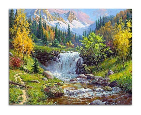 contoh gambar lukisan naturalisme 2