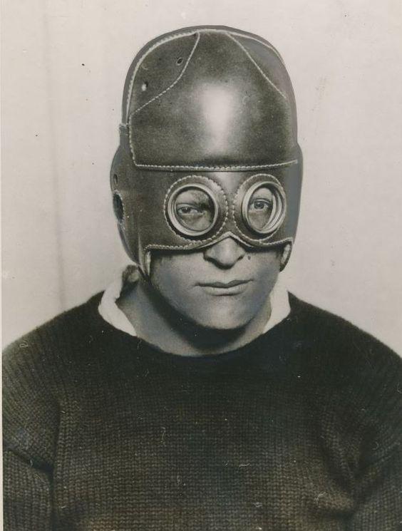 Vintage Leather Football Helmets 26