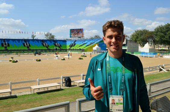 Cavaleiro e criador: filho de Hortência conta planos após disputar a Rio 2016…