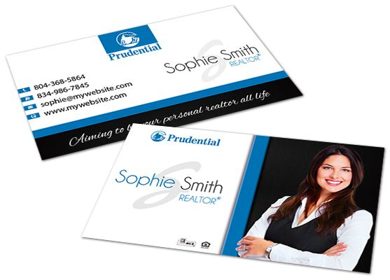 Prudential Business Cards Prudential Business Card Templates Digital Business Card Layered Business Cards Real Estate Business Cards