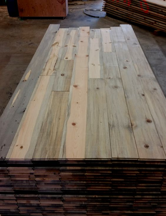 Shipping out some beetle kill pine wall paneling for Tiny House