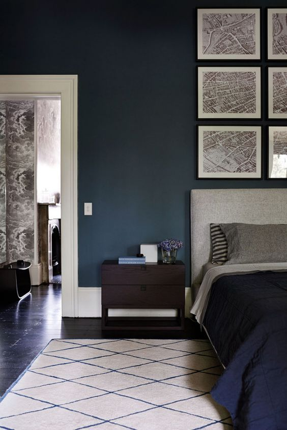 bedroom blue bedrooms moody bedroom bedroom bliss rich bedroom colors