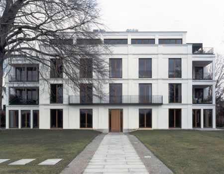 Modern classical architecture. The Schone Aussicht house ...