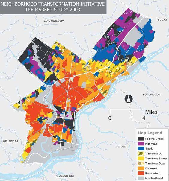 Philadelphia Neighborhood transformation initiative - market study 2003