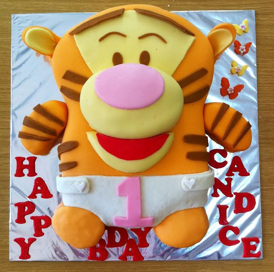 Life is too short, Eat Desserts: Tigger Cake