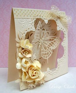 Made using Marianne Creatables Die LR0180 - butterfly is Marianne Creatables Die LR0115: