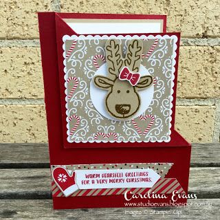 Carolina Evans - Stampin' Up! Demonstrator, Melbourne Australia: Cookie Cutter Christmas
