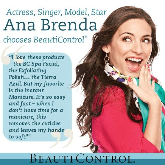 Meet Ana Brenda Contreras… Actress, Singer, Model, STAR! \\ Fans adore her, she is beautiful and successful... and she chooses BeautiControl!