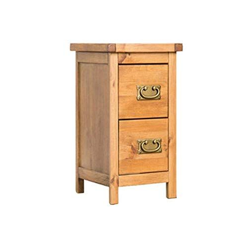Yongfeng Bedside Table Solid Wood Nordic Minimalist Small