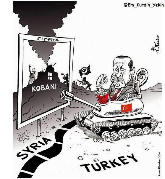 Image result for Syrian Kurds CARTOON