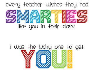 ... add Smarties.