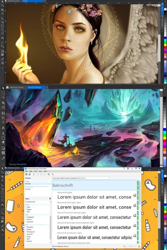 CorelDRAW 2020 Screenshot