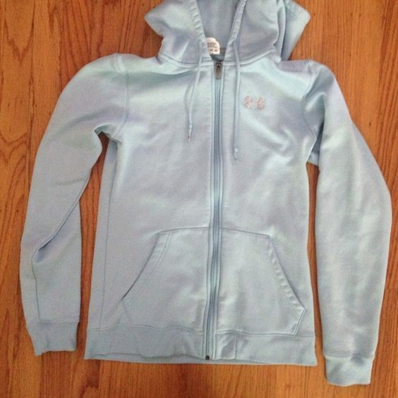 Light blue under armor sweatshirt Very comfortable light blue under armor sweatshirt, in great condition. Under Armour Jackets & Coats