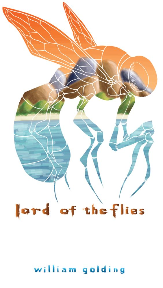 Lord of the Flies Cover on Behance